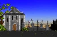 2D village screenshot