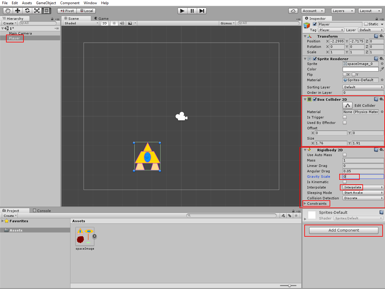 Unity 3D: 2D Space Shooter (tutorial for beginners)